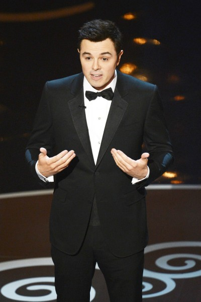 "Our columnist thought Oscars host Seth McFarlane's ""We Saw Your Boobs"" song was a laugh riot."