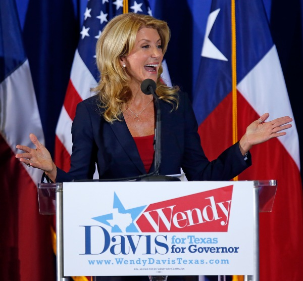 "To some, a pro-choice hero. To one right-wing columnist, Wendy Davis is ""abortion Barbie."""