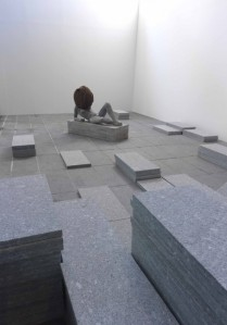 Installation view of Pierre Huyghe's show at the Centre Pompidou. (Courtesy the Pompidou Centre)