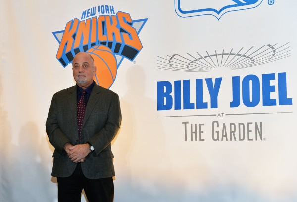 Billy Joel gets Madison Square Garden banner. (Getty Images)