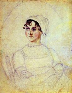 A portrait of Jane Austen by drawn by her sister Cassandra Austen, c. 1810. (Courtesy Wikimedia)
