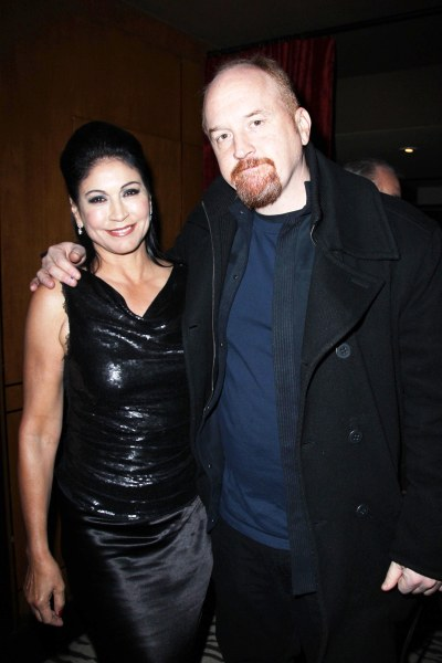Caroline Hirsch, Louie CK (patrickmcmullan.com)