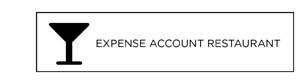 Expense Account Restaurant