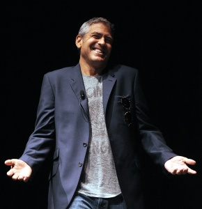 George Clooney. (Photo by Getty Images)