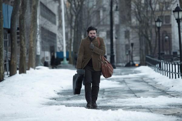 Oscar Isaac stars in Inside Llewyn Davis.