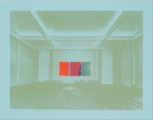 Diao, 'Double Rejection 2 (MoMA Boardroom),' 2012. (Courtesy the artist and Postmasters)