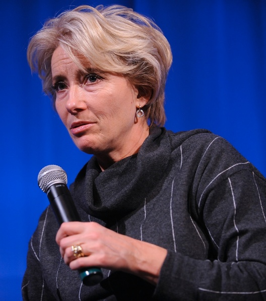 Emma Thompson. (Photo by Getty Images)