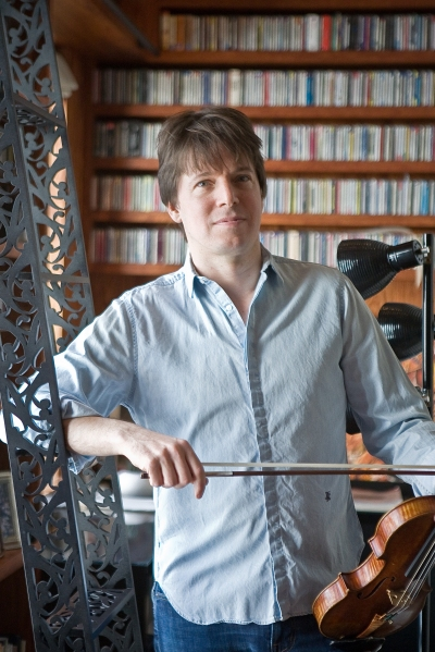 Joshua Bell at home. (Photo by Emily Anne Epstein)