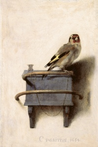 'Goldfinch' (1654) by Carel Fabritius. (Courtesy the Frick)