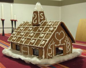 Ginger bread house. (Photo by Wikimedia Commons)