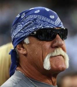 Hulk Hogan. (Photo by Getty Images)