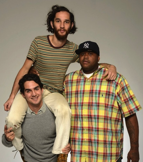 From left to right: Benny Safdie, Josh Safdie and Lenny Cooke. (Photo by WireImage)