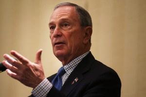 Michael Bloomberg. (Photo by Spencer Platt/Getty)
