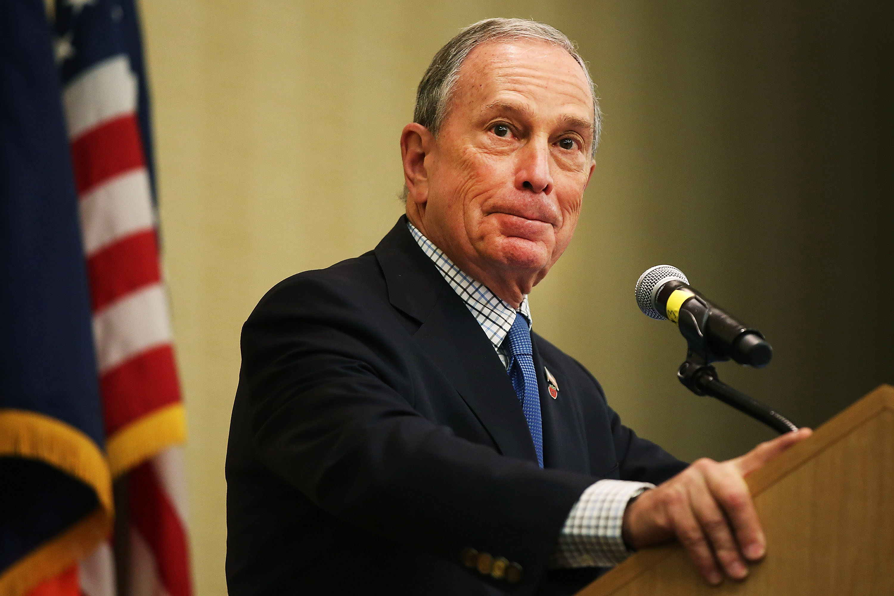 Michael Bloomberg. (Photo: Getty)