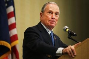 Michael Bloomberg. (Photo: Getty)