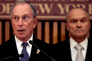 Michael Bloomberg and Ray Kelly. (Photo: Spencer Platt/Getty)