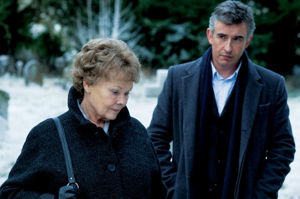 Judi Dench and Steve Coogan in Philomena.