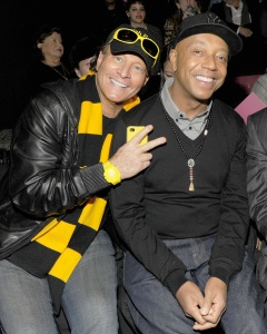 Stewart Rahr with Russell Simmons (Patrick McMullan)