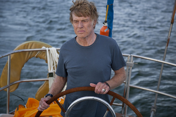 Robert Redford goes solo in All Is Lost.