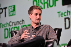 Evan Spiegel of Snapchat. (Photo by Steve Jennings/Getty Images for TechCrunch)