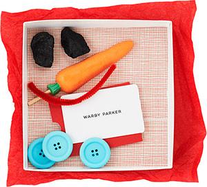 Warby Parker snowman-kit