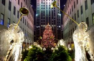 The Rockefeller Center Christmas tree. (Photo:Chris Hondros/Newsmakers)