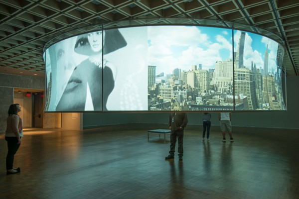 Installation view of T. J. Wilcox, 'In the Air,' 2013. (Photo by Bill Orcutt/Whitney Museum)
