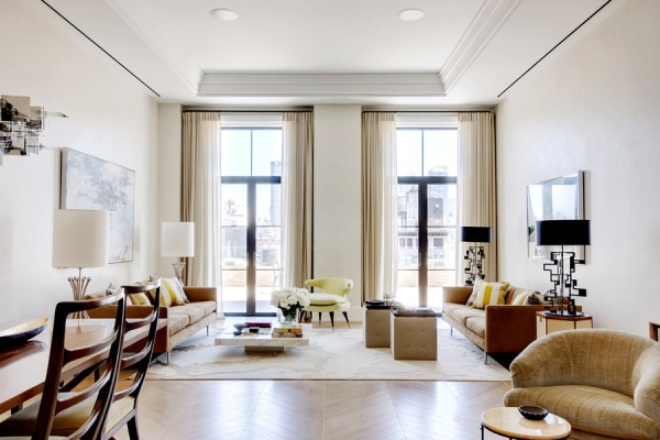 Punk rockers like nice living rooms, too.