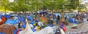 Occupy Wall Street at Zuccotti Park (WalMart)