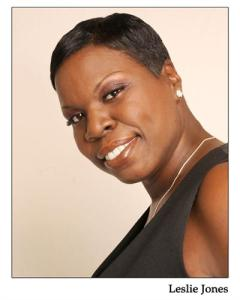 Leslie Jones, one of two new writers on Saturday Night Live.