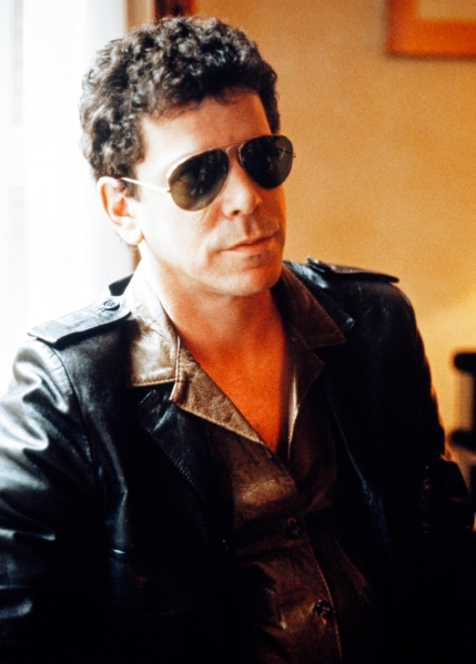 Lou Reed. (Photo by STRINGER/AFP/Getty Images)