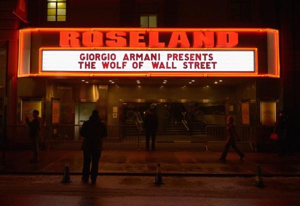 The Roseland Ballroom, today. (Photo via Getty)