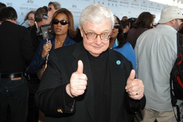 Roger Ebert came back to Twitter on Monday thanks to his wife Chaz. (Photo: Patrick McMullan)