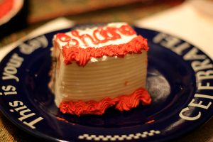 Ice cream cake. (Photo via Wikimedia Commons)