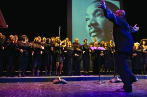 BAM's 28th annual Brooklyn Tribute to Dr. Martin Luther King, Jr. (Photo by Elena Olivio)