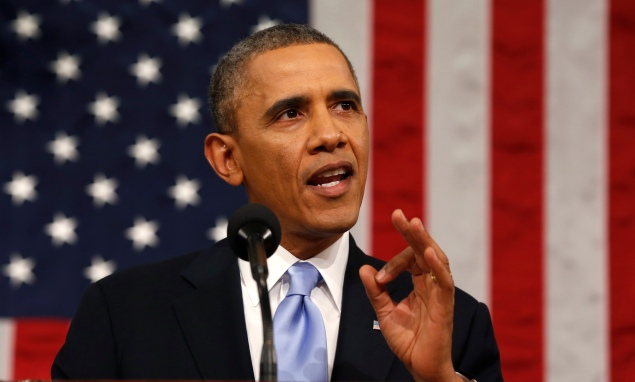 President Barack Obama. (Photo: Larry Downing/Getty Images)