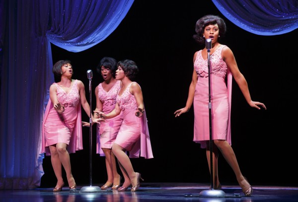 The Shirelles in 'Beautiful.' (Photo by Joan Marcus)