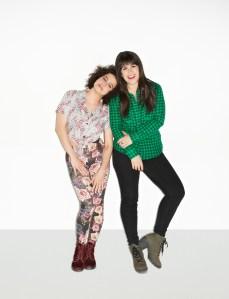 Abbi Jacobson, right, and Ilana Glazer. (Photo by Lane Savage)