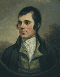A portrait of Robert Burns, because the pictures of Haggis were too disgusting.