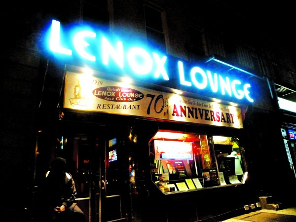 The Lenox Lounge before it closed in 2012. (Photo via Flickr)