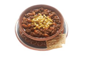 A bowl of chili. (Photo via Wikimedia Commons)