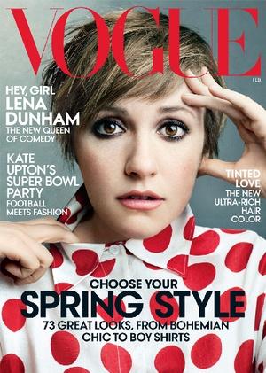 Lena Dunham for Vogue