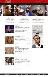 A mockup of the new Nerve.com vertical