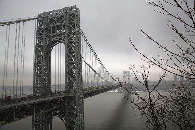The George Washington Bridge.