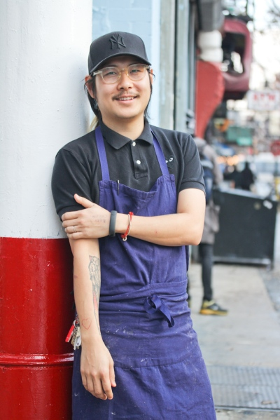 Chef Danny Bowien (photographs by Soohang Lee for The New York Observer).