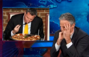 Bill DeBlasio shames Jon Stewart (Comedy Central)