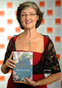 Barbara Kingsolver. (Photo by BEN STANSALL/AFP/Getty Images)