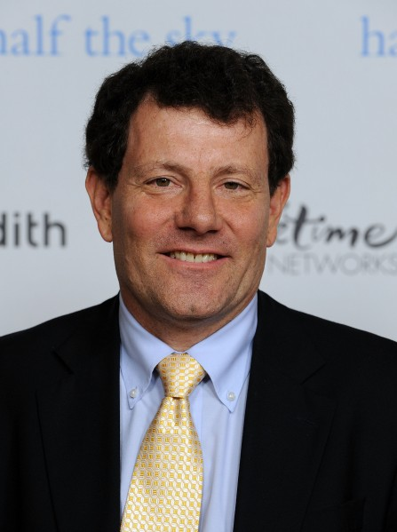 Nicholas Kristof. (Photo by Getty Images)
