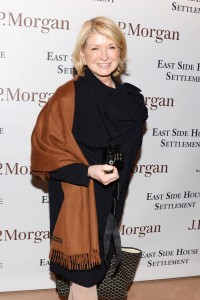 Martha Stewart hits last night's opening of the Winter Antiques Show. Photo ©Patrick McMullan