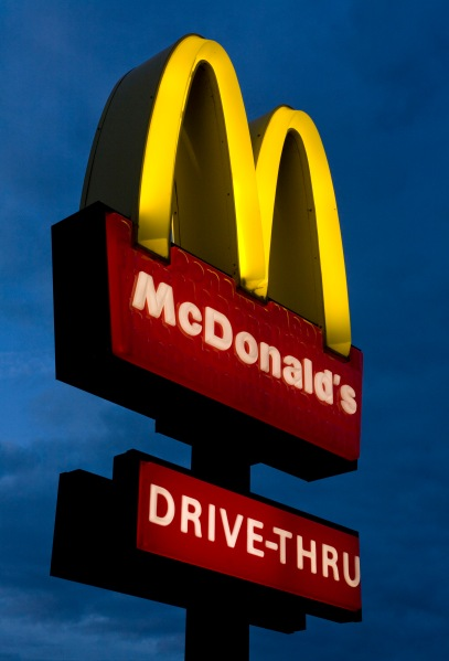 The golden arches. (Photo via Getty Images)